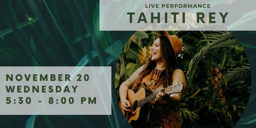 Live Acoustic Music by Tahiti Rey