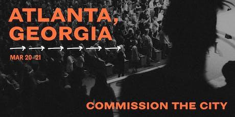 Commission The City: Atlanta tickets