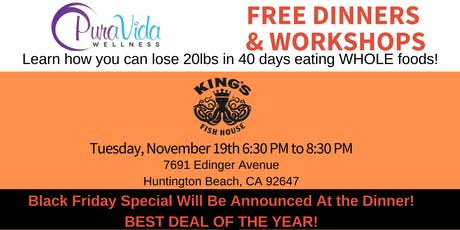 FREE Dinner and Workshop on Low Energy and Weight Loss Resistance tickets