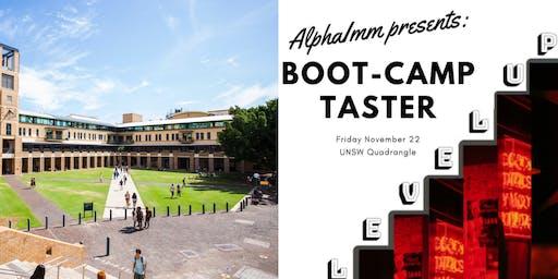 ALPHAIMM Presents: Level Up - Bootcamp Taster