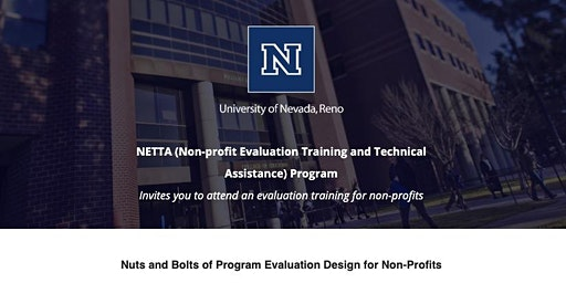 Nuts and Bolts of Program Evaluation Design for Non-Profits