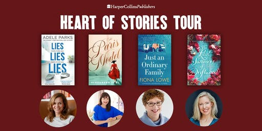 Heart of Stories Tour - Author Event