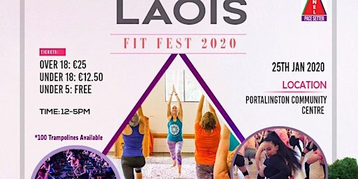Laois Fit Fest under 18's ticket
