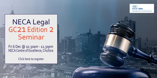 NECA Legal GC Edition 2 Seminar
