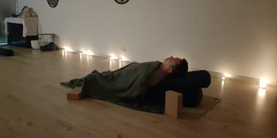 Restorative Yoga + Sound Immersion *live piano