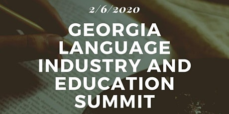 2nd Ga Language Industry and Education Summit tickets