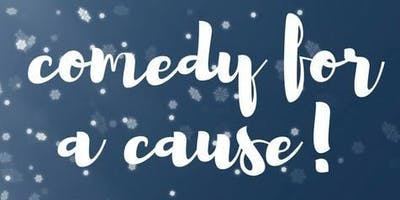 """Comedy for a Cause at """"the collective and Hamburger Marys"""" Holiday Drive for Local Families"""