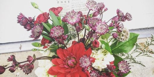 Holiday Flower Workshop by Brin's Posy