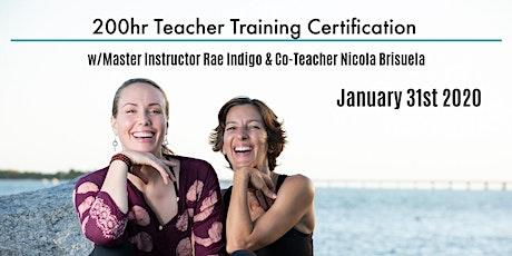 200Hr Teacher Training Certification tickets