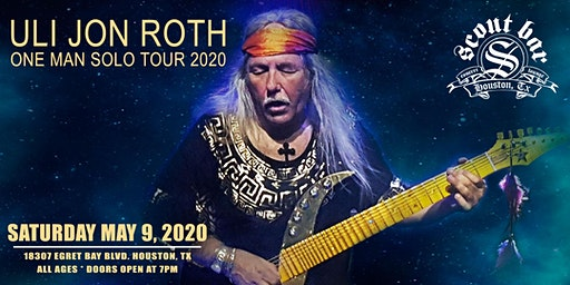 Uli Jon Roth - Solo World Tour 2020
