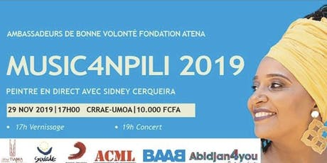 Music4Npili Abidjan 2019 billets