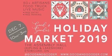 Good & Gooder Holiday Market tickets
