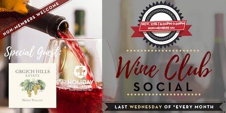 #WINEsday | DEC. Wine Club Wines + Napa Valley's Grgich Hills Winery tickets