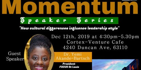 BUILDING MOMENTUM SPEAKER SERIES tickets