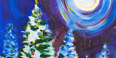 Holiday Paint and Sip 'Winter Sky' tickets