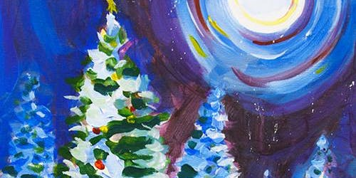 Holiday Paint and Sip 'Winter Sky'