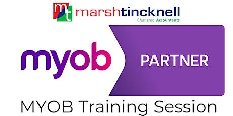 MYOB Software Training | Complimentary tickets