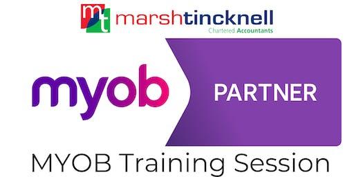 MYOB Software Training | Complimentary