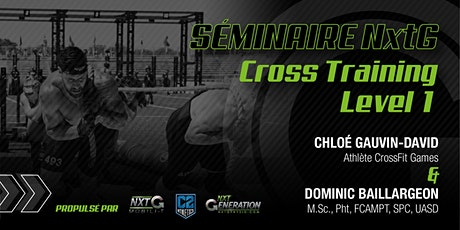 Séminaire NxtG Cross Training Level 1 billets