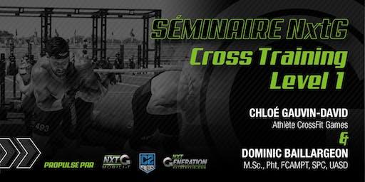 Séminaire NxtG Cross Training Level 1