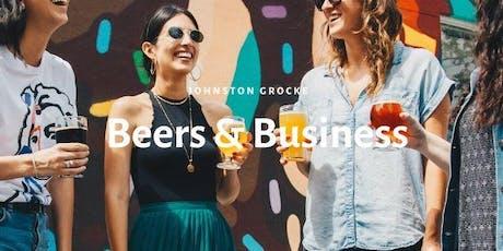 Johnston Grocke: Beers & Business  tickets