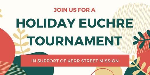 Holiday Euchre Tournament in Support of KSM