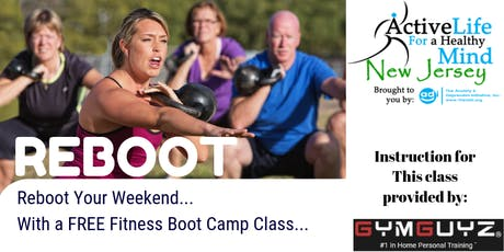 FREE Boot Camp Class at the Totowa Library - 1/4/20 tickets