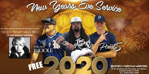 New Year's Eve Praize & Worship Party