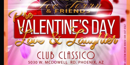 Joe Torry And Friends Pre Valentine Day Comedy Show