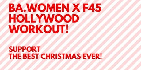 F45 Hollywood Fundraiser Workout! (Best Christmas Ever) tickets