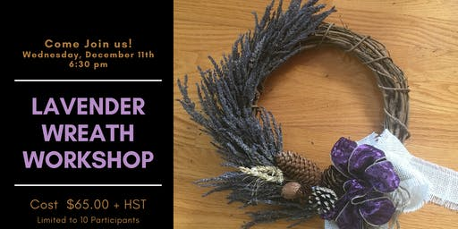 Lavender Wreath Workshop