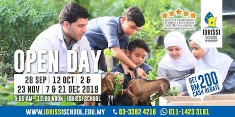 IDRISSI International School Open Day tickets