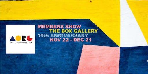 Artists of Rubber City Annual Member Show, Nov. 22-Dec. 21