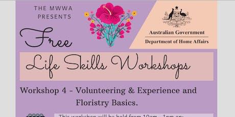 MWWA Life Skills Workshop Series 4 tickets
