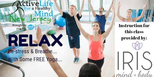 FREE Yoga Class at the Totowa Library - 12/7/19