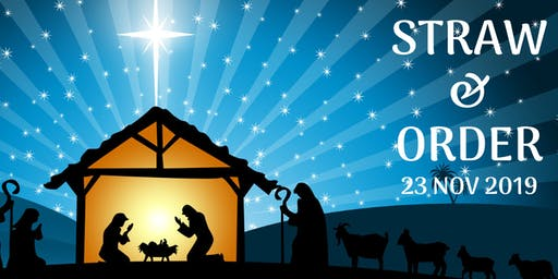 Sunday School Christmas Play: Straw & Order