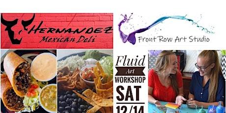 DIY Fluid Art Paint Pouring Workshop tickets