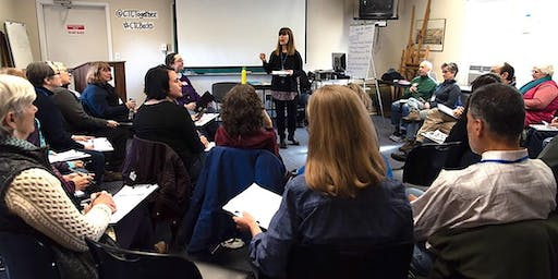 CTC Storytelling Workshop (Part 2) and Canvassing in Bucks County