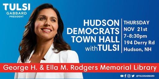 Hudson Democrats Town Hall