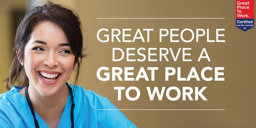 Great People Deserve A Great Place to Work