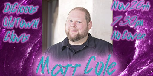 Just The Tips Tuesday Headlining Matt Cole Comedy Show+Open Mic