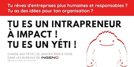L'intrapreneuriat à Québec | Échanges et discussions billets