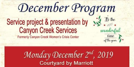 ICRW December Luncheon