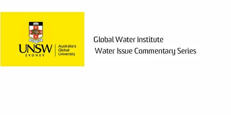 GWI Water Issue Commentary Series: Dr Claire Dooley tickets