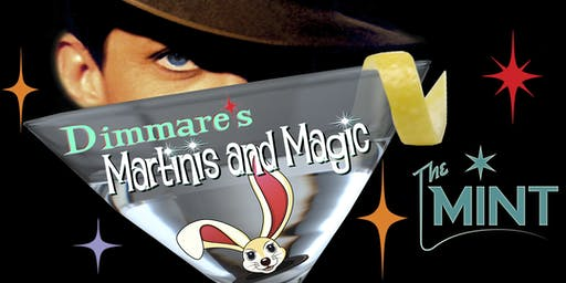 "Dimmare's Martinis and MAGIC ®...""with a twist of Comedy and a Hula Girl !"""