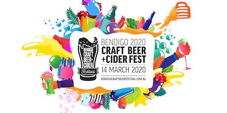 2020 Bendigo Craft Beer & Cider Festival tickets