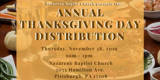 Annual Thanksgiving Day Distribution