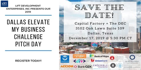 Dallas Elevate My Business Challenge Pitch & Networking Night tickets