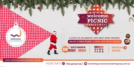 #WelcomeTo Picnic Christmas tickets