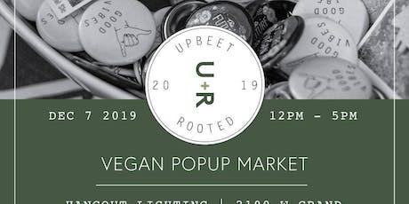 Holiday vegan pop-up market tickets